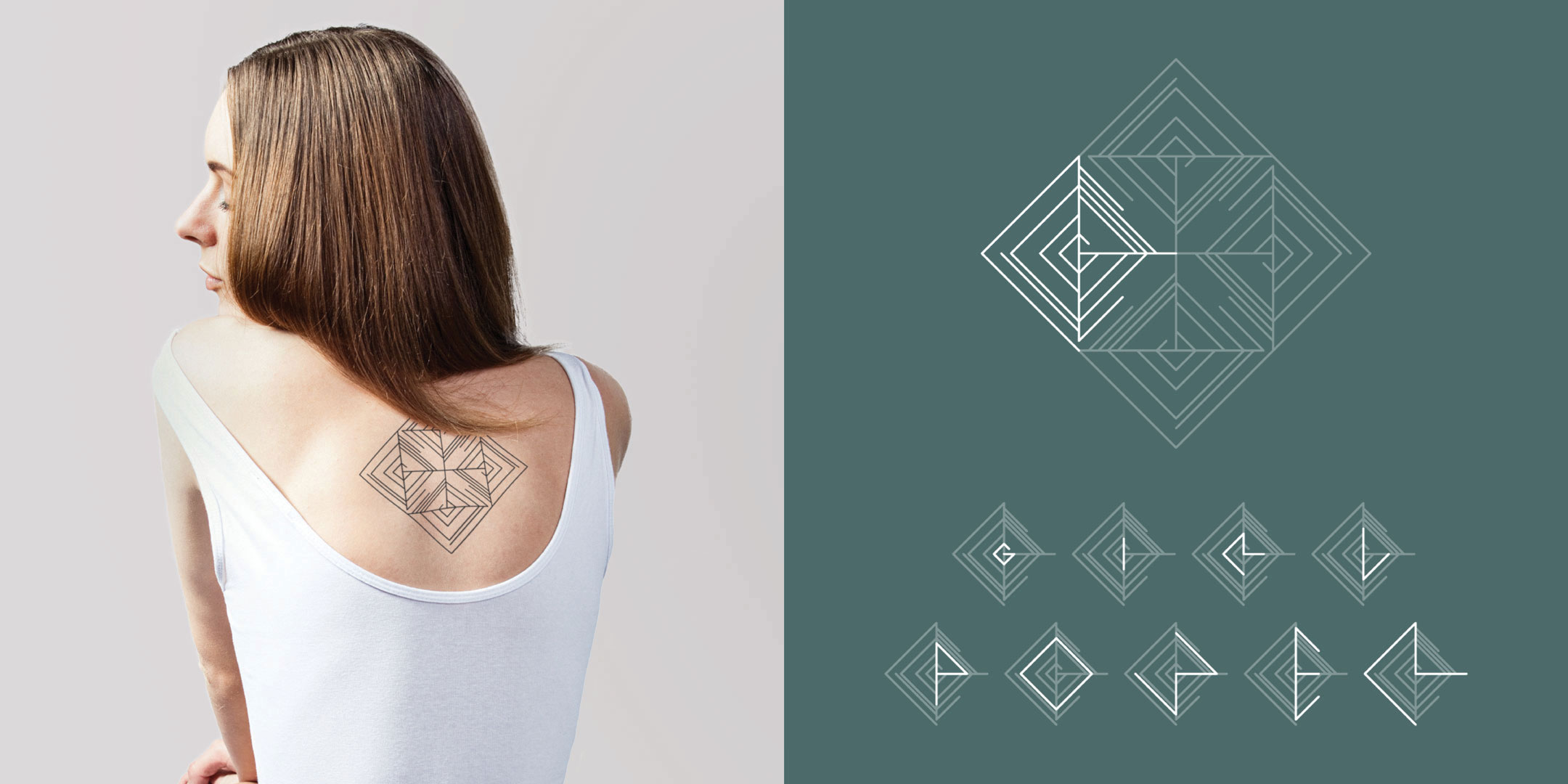 Tattoo with meaning Girl Power by Discreet Tattoos