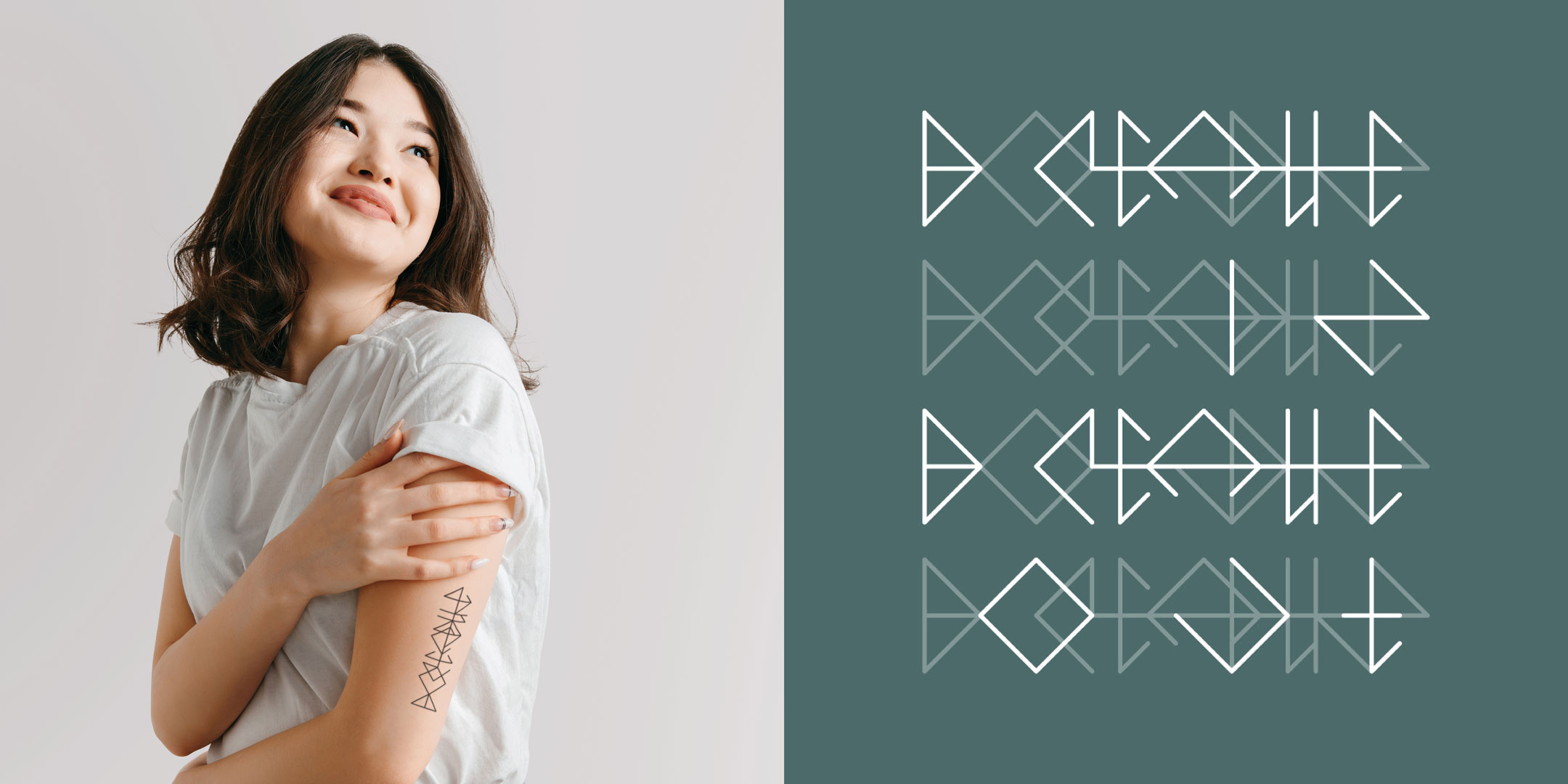 Tattoo with meaning Breathe by Discreet Tattoos